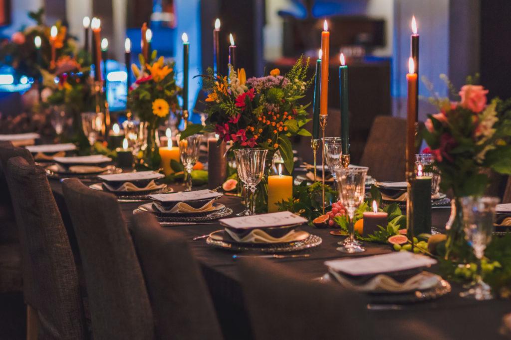 Decoration PR dinner © Leyla Hesna