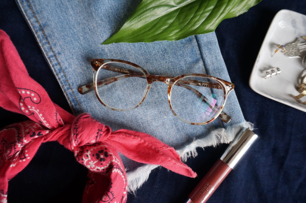 Styling with Ace & Tate specs for Simple & Funky