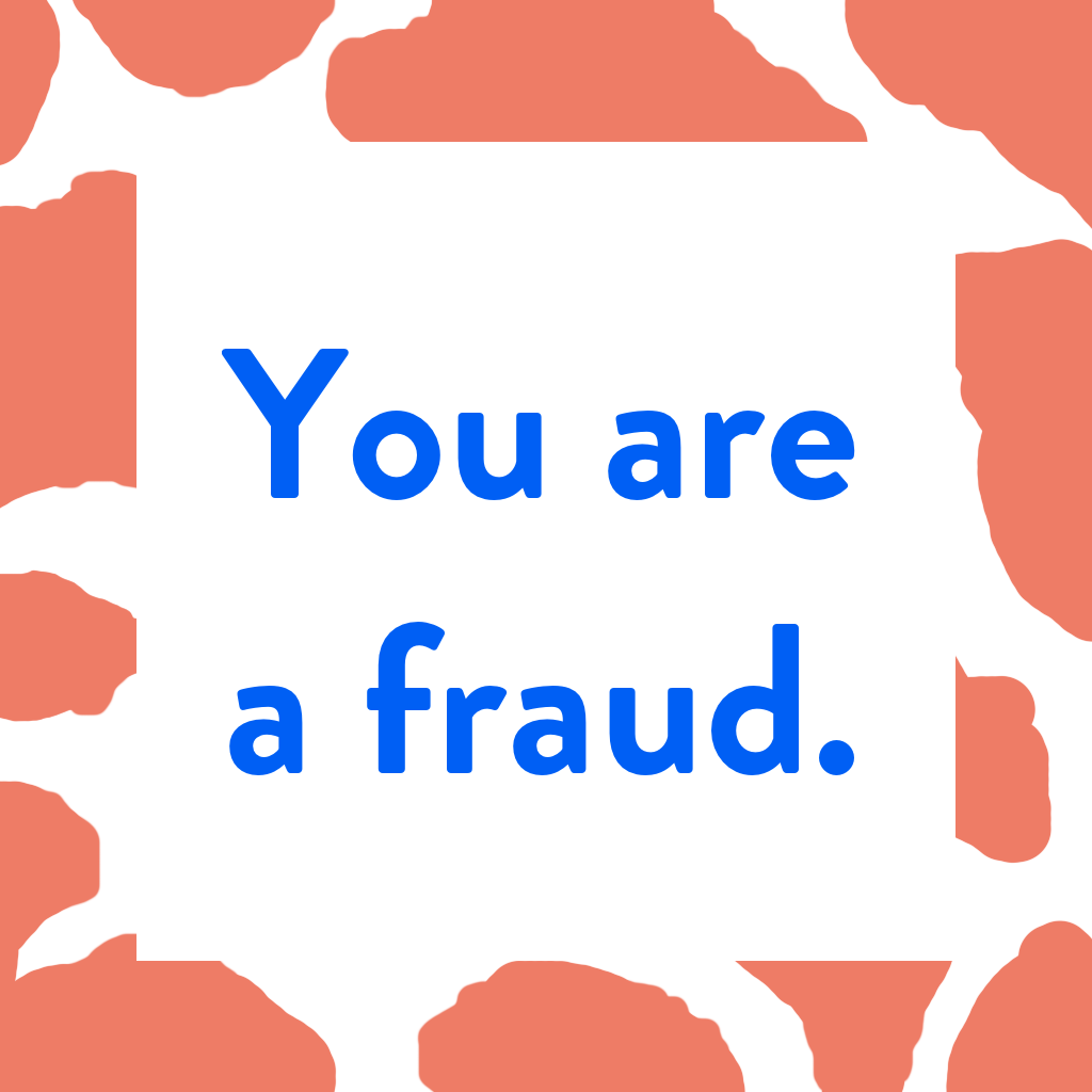 You are a fraud